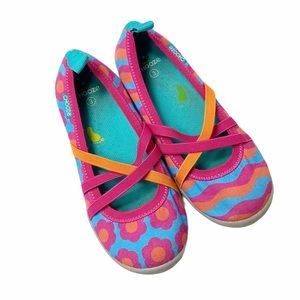 Chooze pink and blue slip Ons